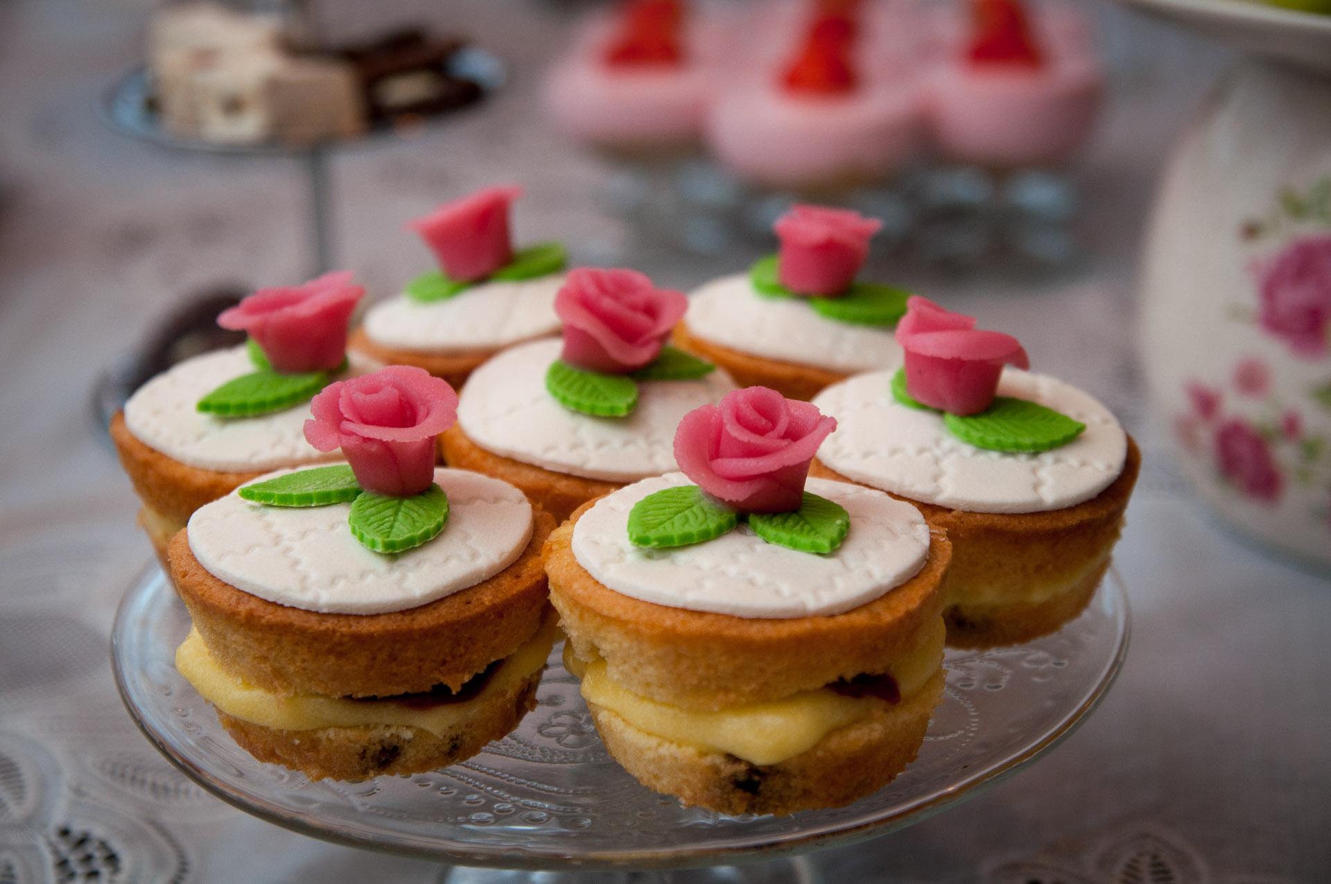 luxe cake met banketbakkersroom