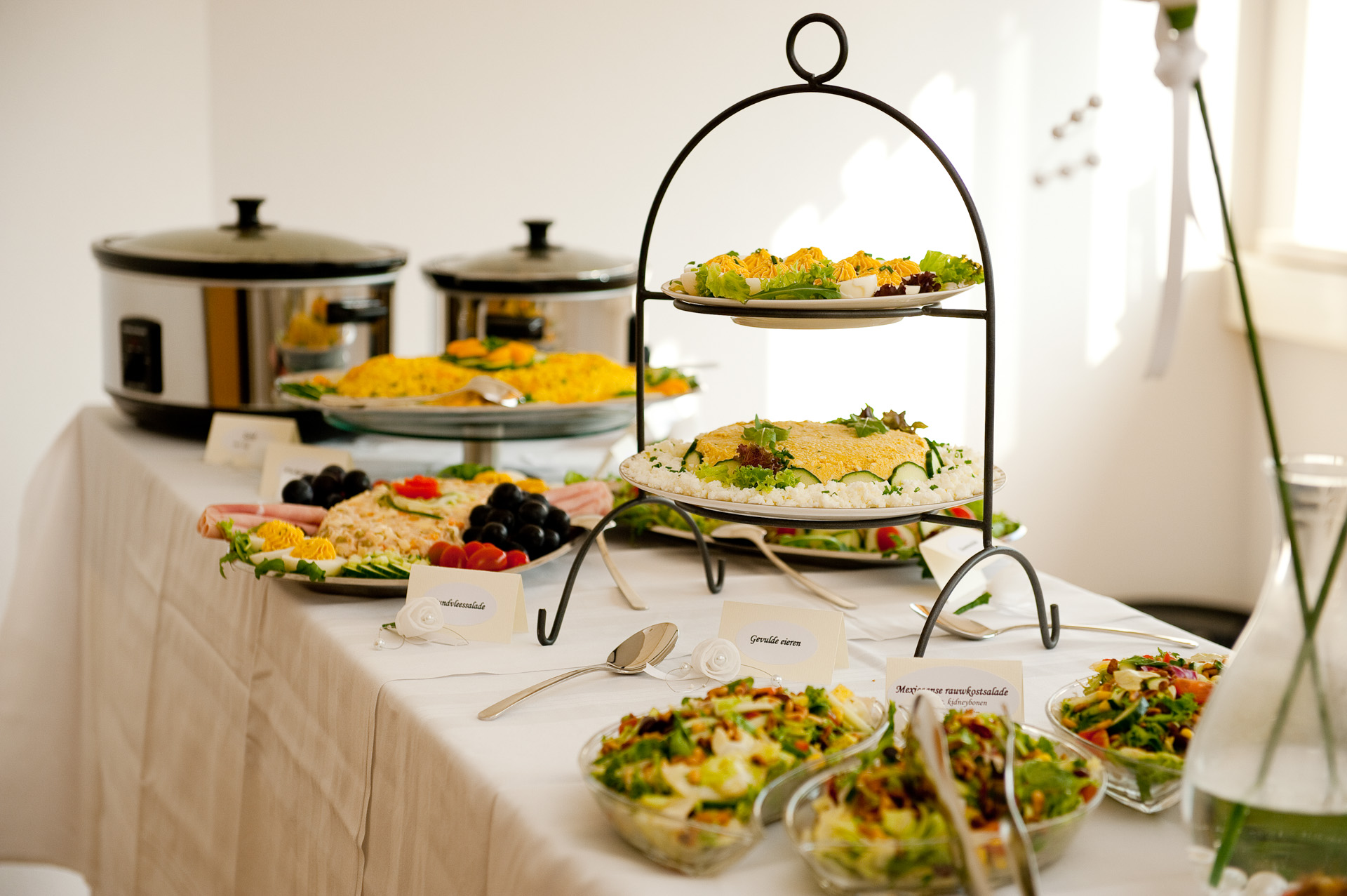 warm koud buffet